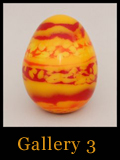 Unique Collectible Cast Glass Eggs - Gallery 3